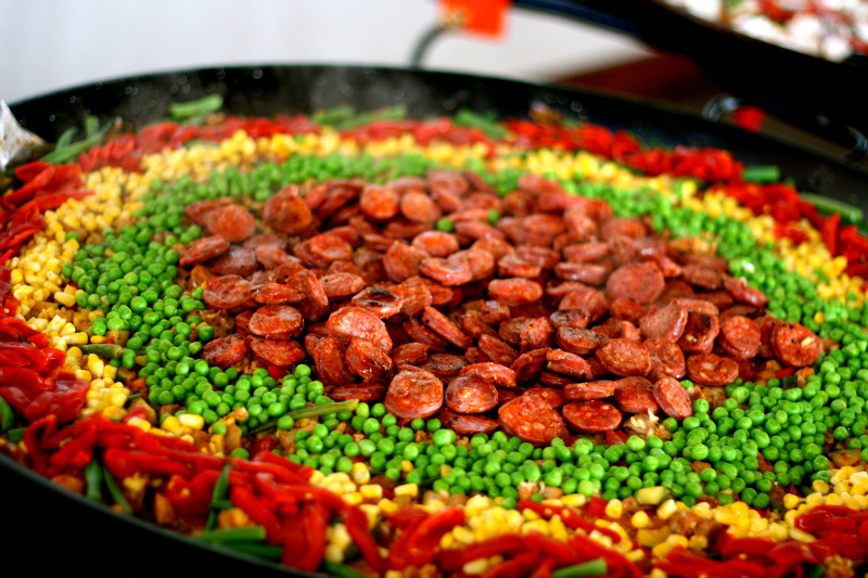 Privet party paella catering Sydney