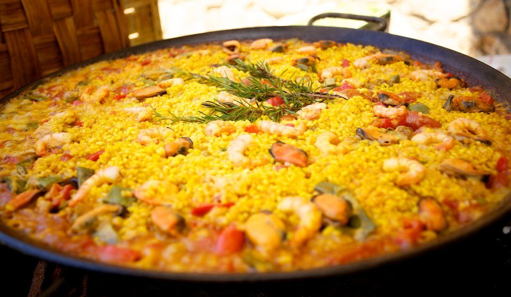History of paella